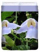Bali Flowers 3 Duvet Cover