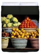 Bali Food Duvet Cover