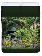 Bali Gardens Duvet Cover