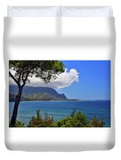Bali Hai Hawaii Duvet Cover
