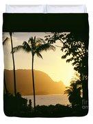 Bali Hai, Yellow Duvet Cover