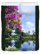 Bali Reflections Duvet Cover