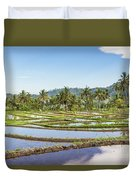 Bali Rice Paddies Duvet Cover