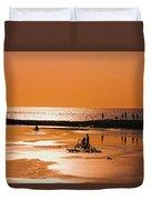 Bali, Sunset Duvet Cover