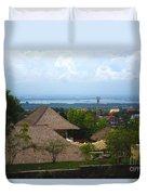 Bali V Duvet Cover