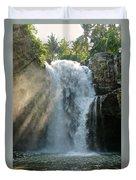 Bali Waterfalls Too Duvet Cover