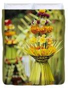 Balinese Ceremony Duvet Cover