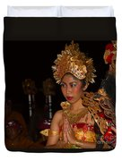 Balinese Dancer Duvet Cover