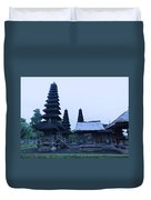 Balinese Temple On Side Duvet Cover
