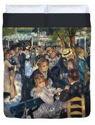 Ball At The Moulin De La Galette 1876 Duvet Cover