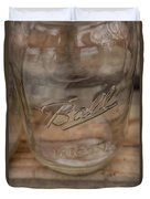 Ball Mason Jar Duvet Cover