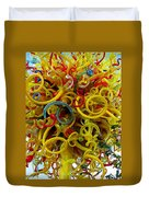 Ball Of Chihuly Glass Duvet Cover