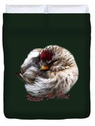 Ball Of Feathers Duvet Cover