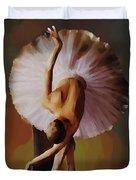 Ballerina Art 0421 Duvet Cover