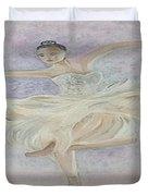 Ballerina Dancer Duvet Cover