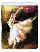 Ballerina Girl Duvet Cover