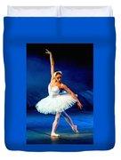 Ballerina On Stage L B Duvet Cover