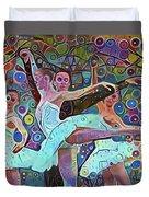 Ballet Carnival Duvet Cover