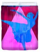 Ballet Dancer Duvet Cover by David G Paul