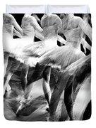 Ballet Dancers Duvet Cover