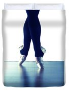 Ballet Feet 1 Duvet Cover