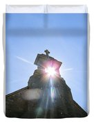 Ballinafad Blessing / Reflections Of The Light Through Time Duvet Cover