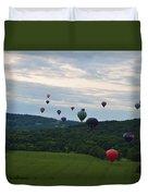 Ballon Festival  Duvet Cover