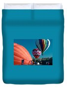 Ballon Launch Duvet Cover