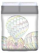 Balloon Day Duvet Cover