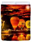 Balloon Festival Duvet Cover