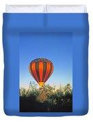 Balloon Launch Duvet Cover