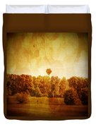 Balloon Nostalgia Duvet Cover by Michael Garyet