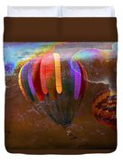 Balloon Race Duvet Cover