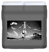 Balloons And Surrealism 3 Duvet Cover
