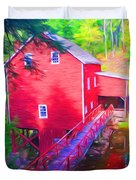Balmoral Grist Mill Museum Duvet Cover