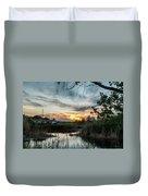 Balmorhea Sunset Duvet Cover