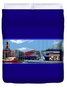 Baltimore Harbor Duvet Cover