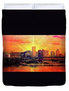 Baltimore Horizon Duvet Cover