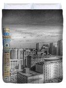 Baltimore Landscape - Bromo Seltzer Arts Tower Duvet Cover