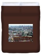 Baltimore Rooftops Duvet Cover