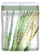 Bamboo Forest Watercolor Duvet Cover