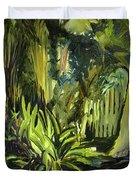 Bamboo Garden I Duvet Cover