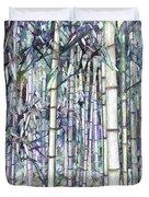Bamboo Grove Duvet Cover