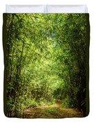Bamboo Hike Duvet Cover