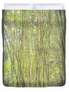 Bamboo In San Diego Zoo Duvet Cover