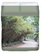 Bamboo Overhang Path  Duvet Cover