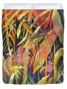 Bamboo Patterns Duvet Cover