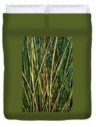 Bamboo Shoots  Duvet Cover