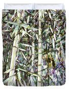 Bamboo Sprouts Forest Duvet Cover
