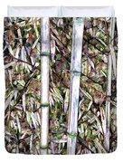Bamboo Stalks Duvet Cover